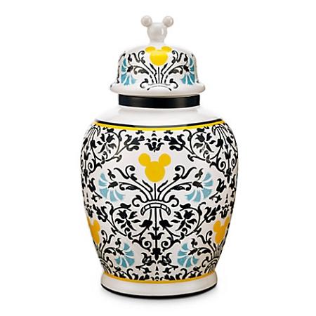 Disney Vase With Lid Mickey Mouse Icon Indigo