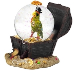 Disney Snow Globe - Pirates of the Caribbean Parrot