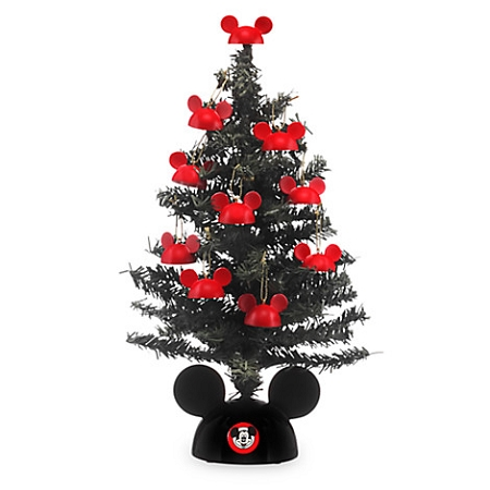 disney tabletop tree santa mickey mouse ears - Mickey Mouse Christmas Tree Topper