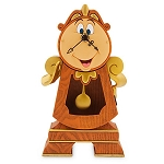 Disney Figure - Cogsworth Clock - Beauty and the Beast