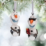 Disney Christmas Ornament Set - Olaf Bells