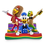 Disney Medium Figure Statue - The 3 Caballeros - Donald Duck