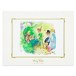 Disney Story Book Deluxe Art Print - Peter Pan