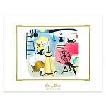 Disney Story Book Deluxe Art Print - Cinderella Wish