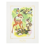 Disney Story Book Deluxe Art Print - Bambi and Thumper