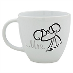 Disney Coffee Cup Mug - Minnie Mouse Bride - Mrs