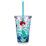 Disney Tumbler with Straw - Ariel - Under the Sea - The Little Mermaid