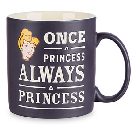 Disney Coffee Mug - Cinderella - Once a Princess Always a Princess