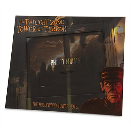 Disney Photo Frame - The Hollywood Tower Hotel - Tower of Terror