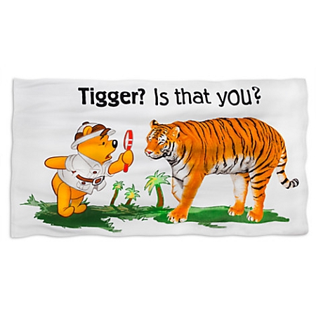 Disney Beach Towel - Animal Kingdom - Tigger, is that you?