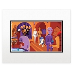 Disney Art Print - Shag Star Wars Cantina - Right Side