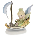 Disney Precious Moment Figurine - Tinkerbell - Imagination Has No Ride