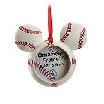 Disney Frame Ornament - Mickey Mouse Icon - Baseball