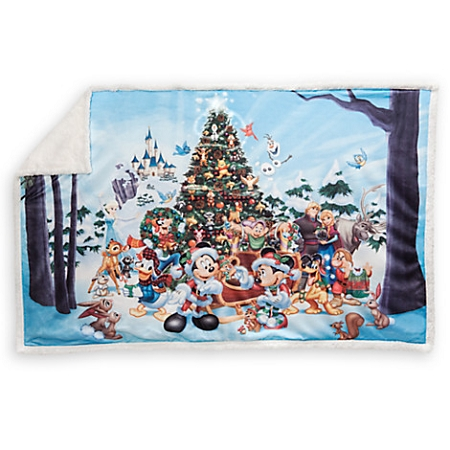 Disney Throw Blanket Christmas Storybook Fleece Throw Beauteous Christmas Fleece Throws Blankets