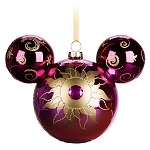 Disney Mickey Ears Christmas Ornament - Mickey Mouse Icon - Sunburst