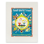 Disney Art Print - it's a small world - Small World Travel