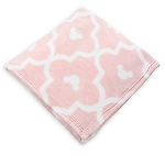 Disney Throw Blanket - Minnie Mouse Victorian Print - Pink