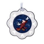 Disney Christmas Ornament - 2017 Mickey Snowflake - Disney World
