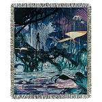 Disney Tapestry Woven Throw - Pandora - The World of Avatar