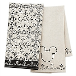 Disney Kitchen Towel Set - Disney Kitchen - Black and Cream