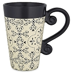 Disney Coffee Mug - Mickey Mouse Icons - Black and Cream