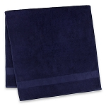 Disney Bath Towel - Mickey Mouse Icons - Navy