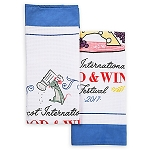 Disney Dish Towel Set - 2017 Food and Wine Festival - Remy