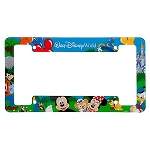 Disney License Plate Frame - Park Fun Walt Disney World