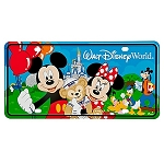 Disney License Plate - Park Fun Walt Disney World