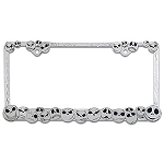 Disney License Plate Frame - Jack Skellington