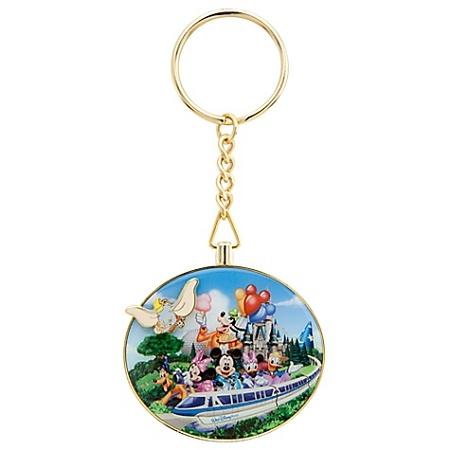 Disney Keychain Walt Disney World Resort Flying Dumbo