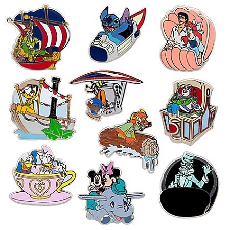 Disney Mystery Pin Set Walt Disney Parks 2 Random