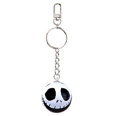 Disney Keychain - Jack Skellington Floating Skull Keyring
