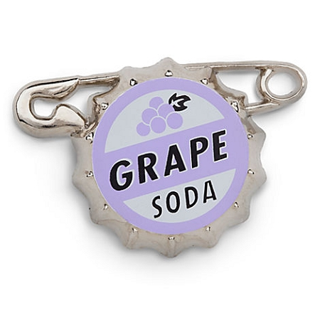Disney Bottlecap Pin - Pixar's Up - Russell's Grape Soda