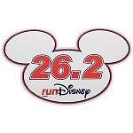 Disney Auto Magnet - RunDisney Mickey Mouse Icon - 26.2