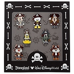 Disney Boxed Mini Pin Set - Pirates of the Caribbean - Cute Characters