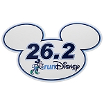 Disney Auto Magnet - RunDisney Mickey Mouse 26.2