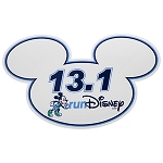 Disney Auto Magnet - RunDisney Mickey Mouse 13.1