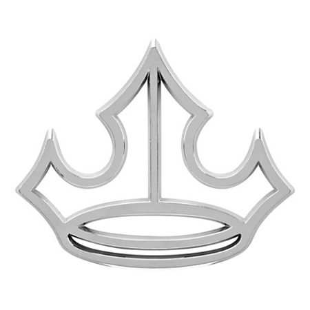 Disney Auto Emblem - Princess Crown - Silver