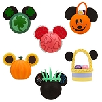 Disney Antenna Topper Set - Season Holiday Pack - Set of 6