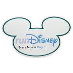 Disney Auto Magnet - RunDisney - Every Mile is Magic