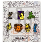 Disney Mini Pin Set - Mickey Mouse and Friends - D-Tour