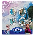 Disney Pin Set - Frozen - Anna, Elsa, Olaf, and Arendelle Castle