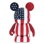 Disney Vinylmation Figure - Theme Park Favorites 3'' - American Flag