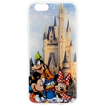 Disney IPhone 6 Case - Mickey and Friends with Cinderella Castle