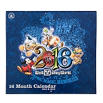 Disney Calendar - 2015 to 2016 Walt Disney World Resort - 16 Month