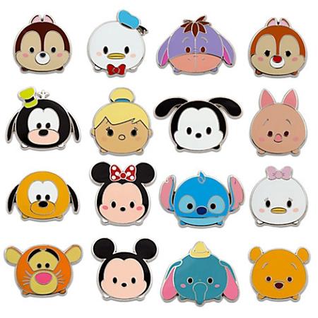 Disney Mystery Pin Pack - Tsum Tsum - 5 Random