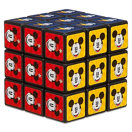 Disney Game - Rubik's Cube Theme Park Edition