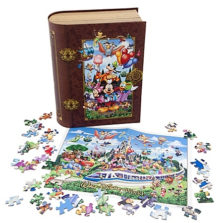Disney Puzzle - Storybook Walt Disney World Puzzle Set