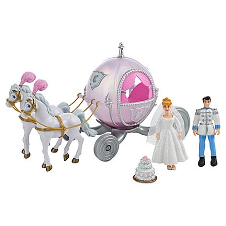 Disney Figurine Set - Cinderella Deluxe Wedding Playset